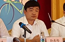 腾森橡胶轮胎(威海)有限公司管理部部长 孙庆伦